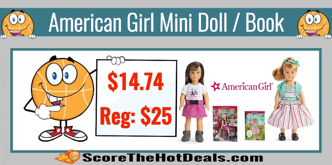 american girl mini doll and book