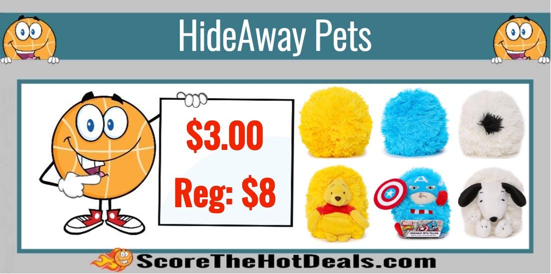 mini hideaway pets