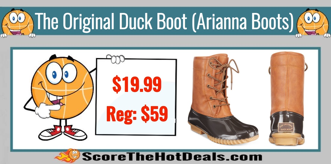 The Original Duck Boots Arianna Boots