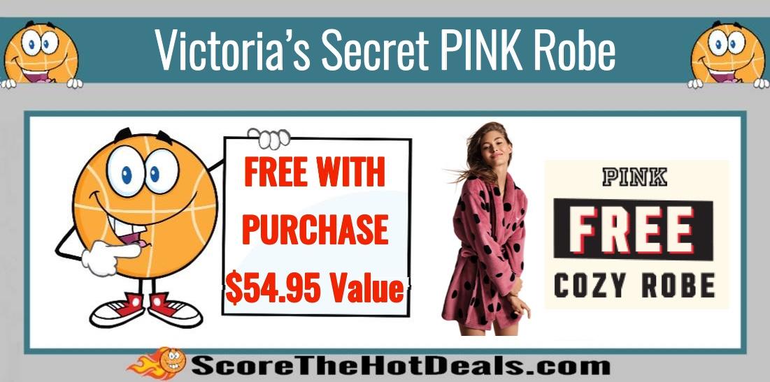 FREE Victoria's Secret PINK Robe