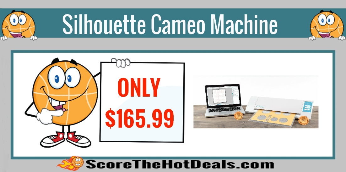 Silhouette Cameo Cutting Machine Starter Bundle