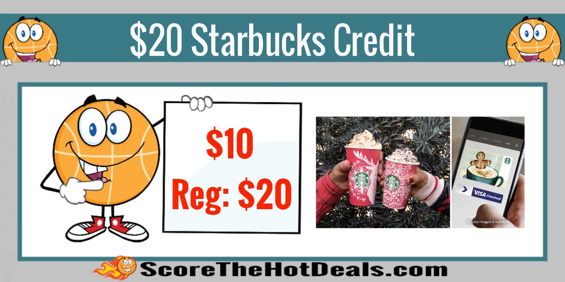 $20 Starbucks Credit