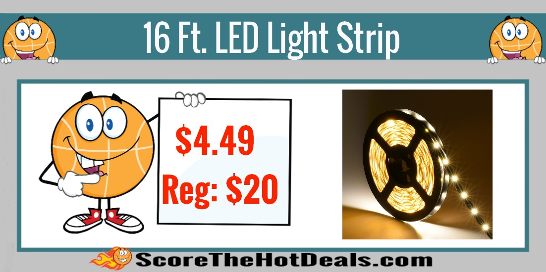 16 Ft. LED Light Strip