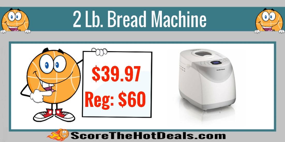 Hamilton Beach 2 Lb Bread Machine