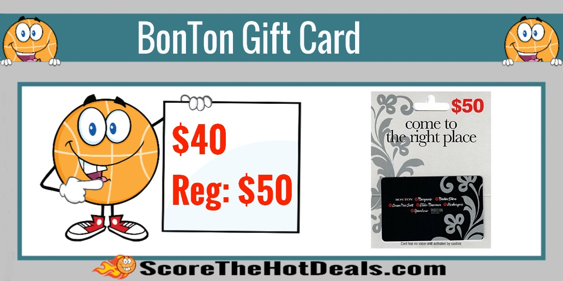 BonTon Gift Card