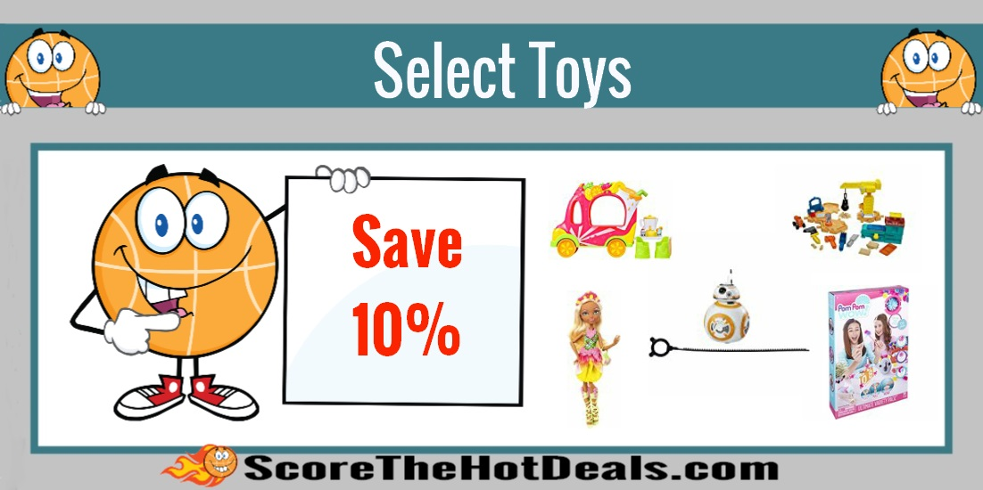 Save an Additional 10% Off Select Toys