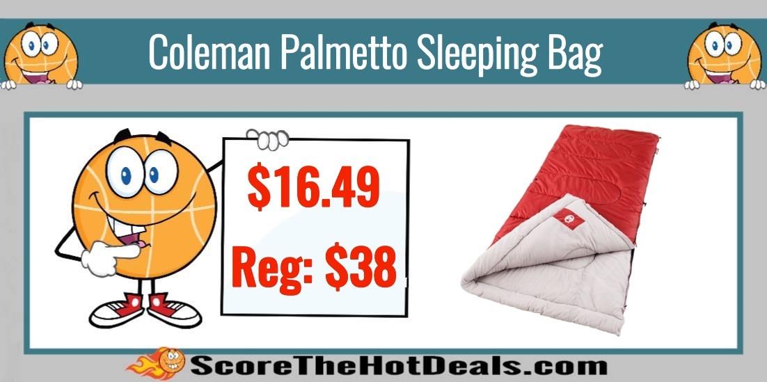 Hot Coleman Palmetto Cool Weather Sleeping Bag 16 49 Reg 38