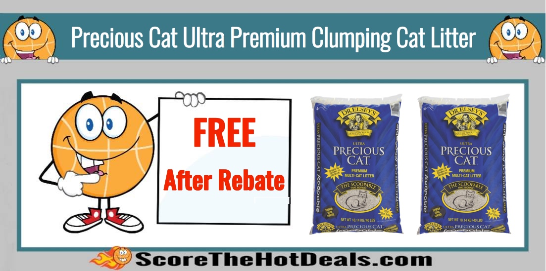 FREE Precious Cat Ultra Premium Clumping Cat Litter after Rebate!
