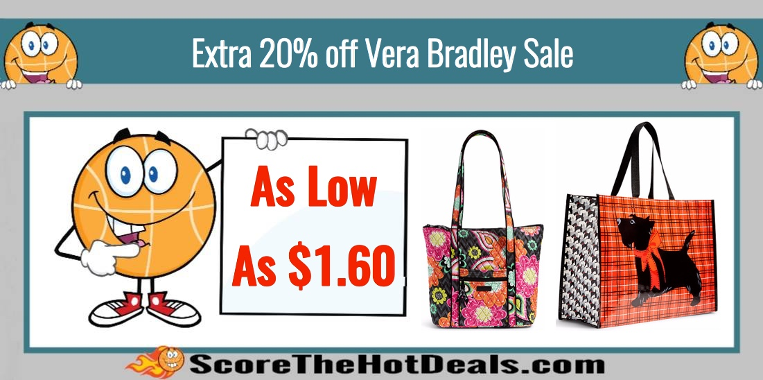 Vera Bradley - Extra 20% off Sale Items