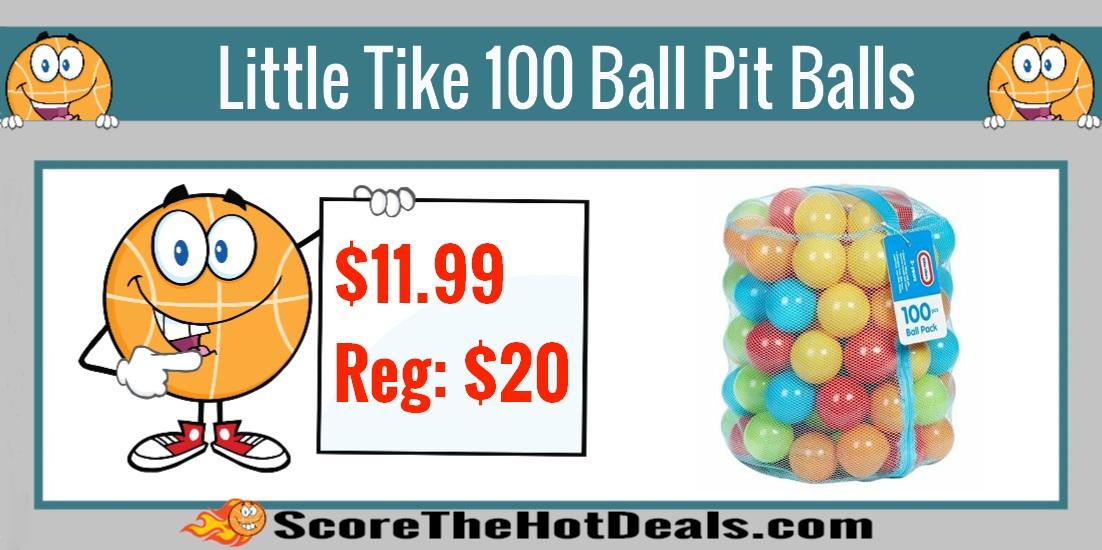 100 Piece Little Tikes Ball Pit Balls