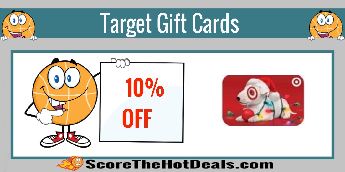 Save 10% Off Target Gift Cards