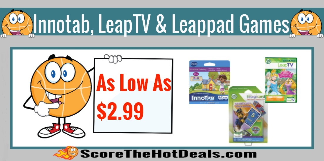 LeapTV, Innotab and LeapPad Games