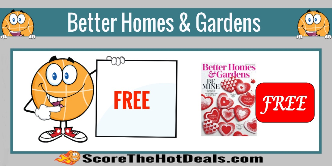 Better Homes & Gardens Magazine Subscription