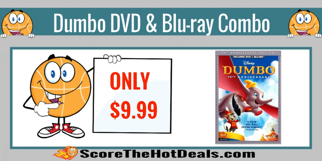 Dumbo 70th Anniversary Edition DVD/Blu-ray