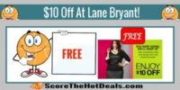 EXPIRED: BACK AGAIN! $10 Off $10 At Lane Bryant Coupon!