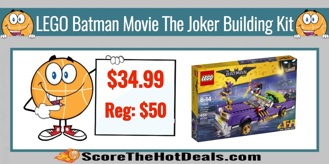 LEGO Batman Movie The Joker Building Kit