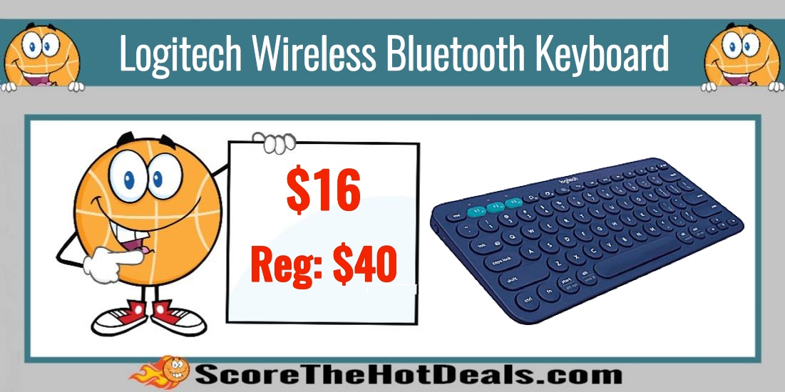 Logitech Wireless Bluetooth Keyboard