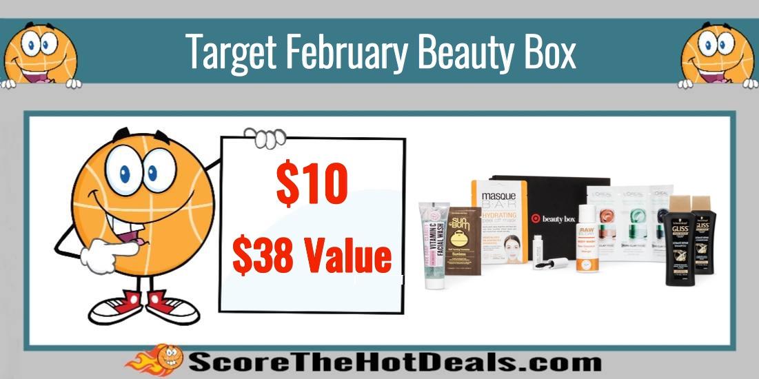 Target February Beauty Box