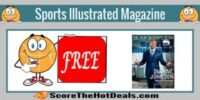 **FREE** Sports Illustrated Magazine Subscription!