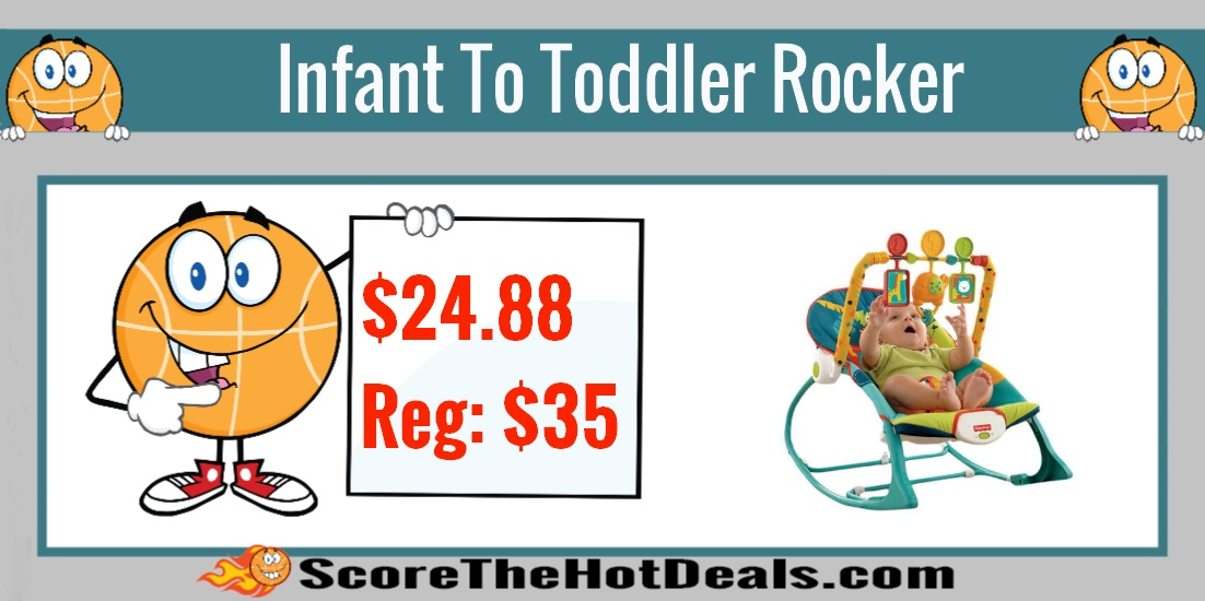 Fisher Price Infant to Toddler Rocker Sleeper