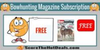Bowhunting World Magazine Subscription!