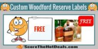**FREE** Custom Woodford Reserve Labels!