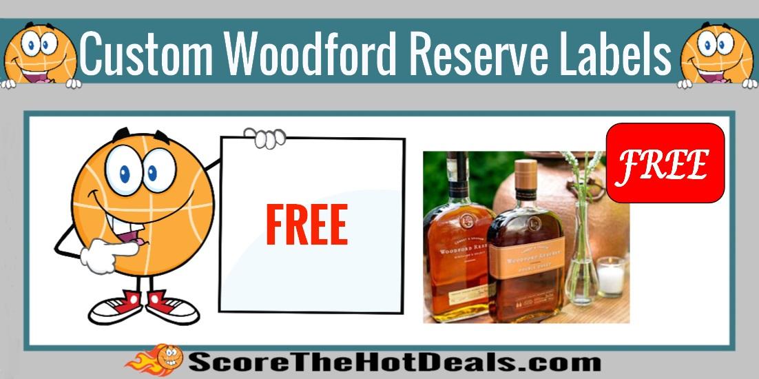 Custom Woodford Reserve Labels!