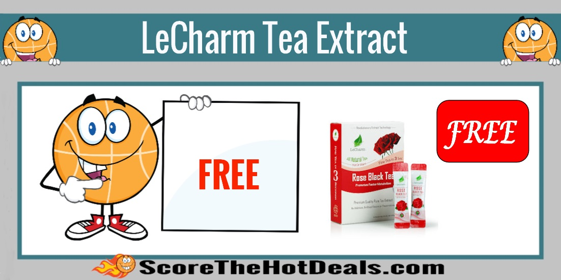 LeCharm Tea Extract Sample