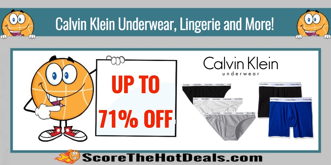 Calvin Klein Underwear, Lingerie and More