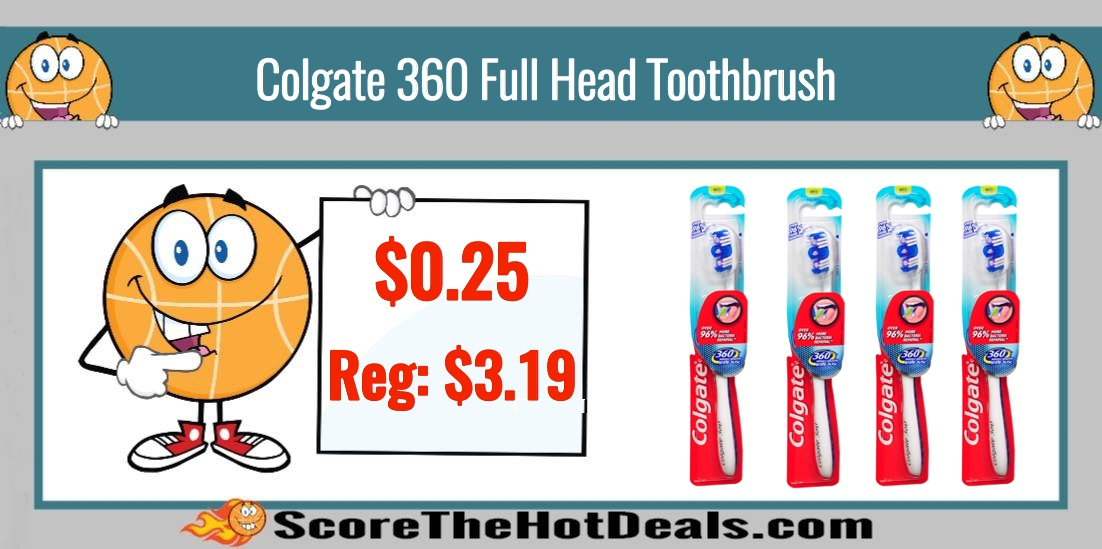 Colgate 360 Full Head Toothbrush