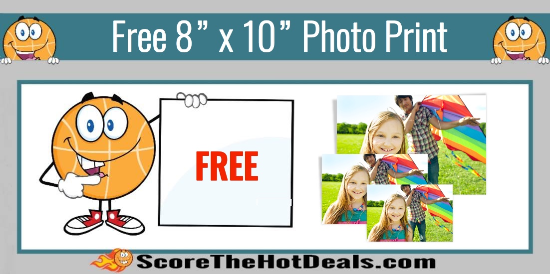 "Walgreens: Free 8"" x 10"" Photo Print"