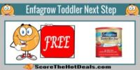 **FREE** 10 Oz. Enfagrow Toddler Next Step!