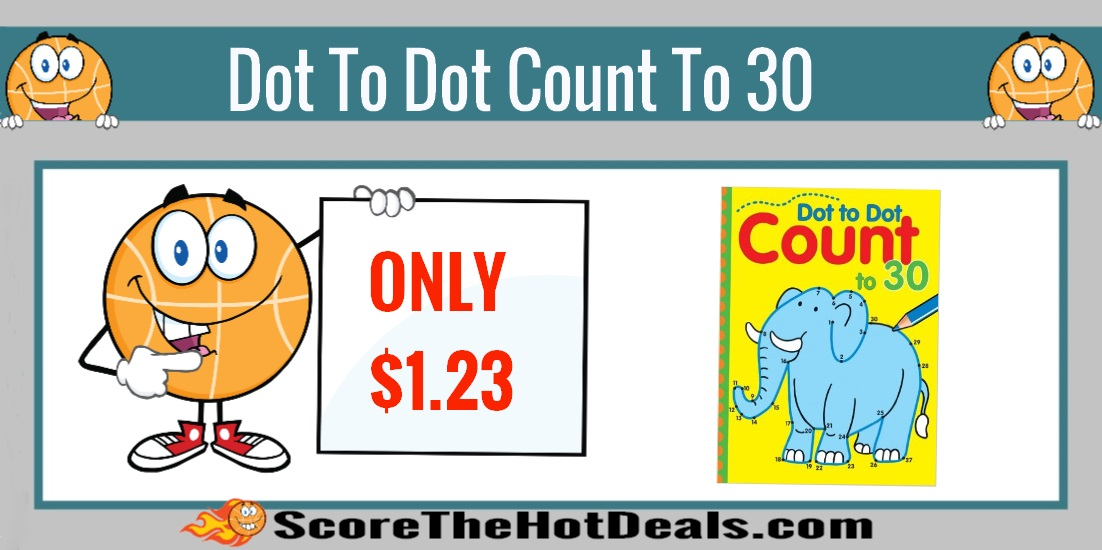 Dot to Dot Count to 30 Book