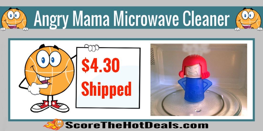 Angry Mama Microwave Oven Cleaner