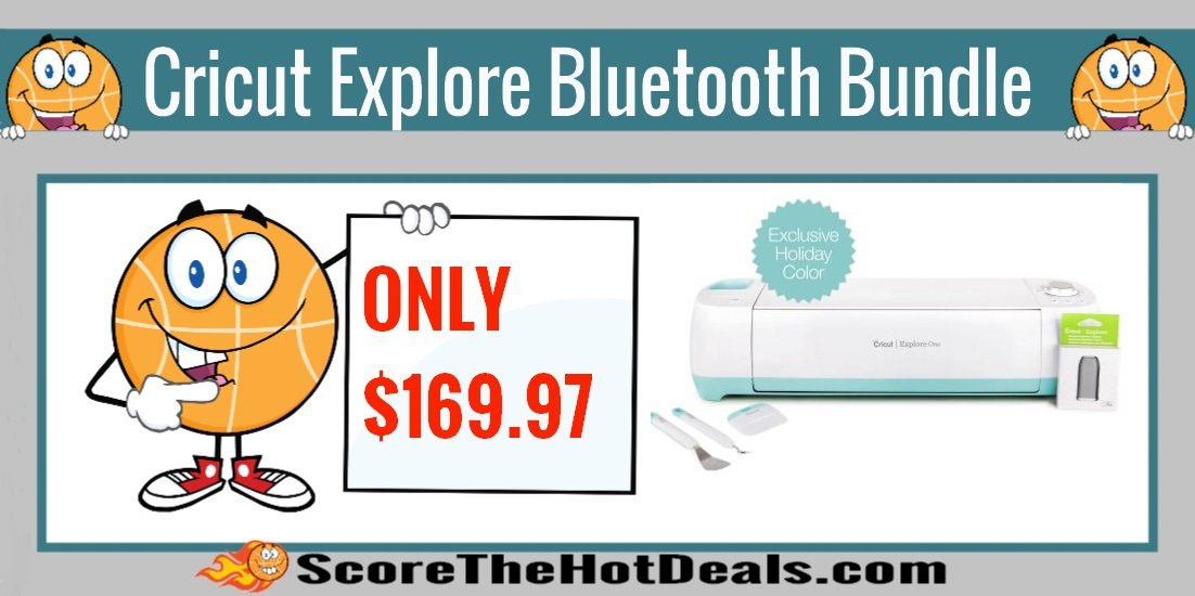 Cricut Explore One Special Edition Bluetooth Bundle