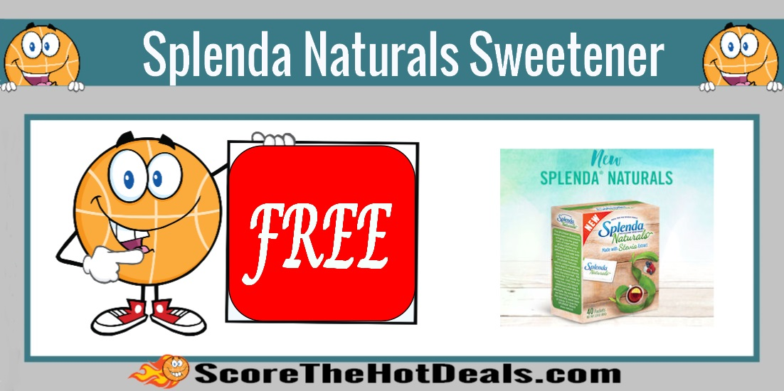 SPLENDA Naturals Stevia Sweetener Sample