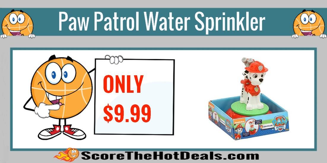 Paw Patrol Marshall Water Sprinkler