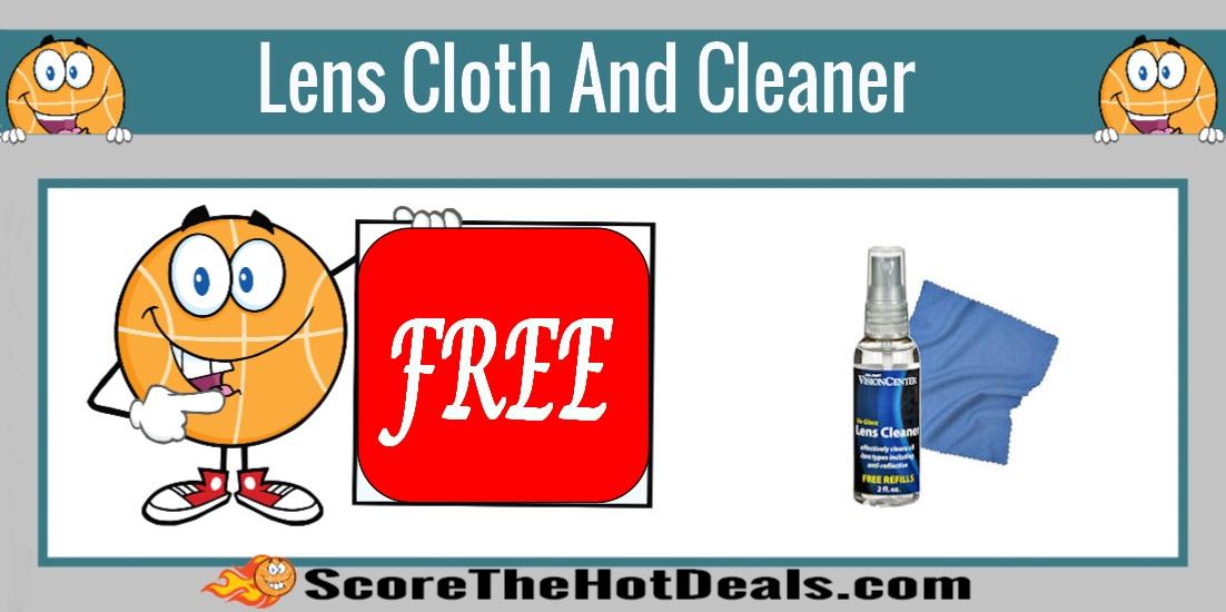 Lens Cloth & Cleaner at Walmart