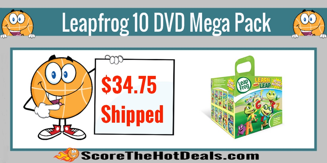 Learn With Leap Leapfrog 10 DVD Mega Pack