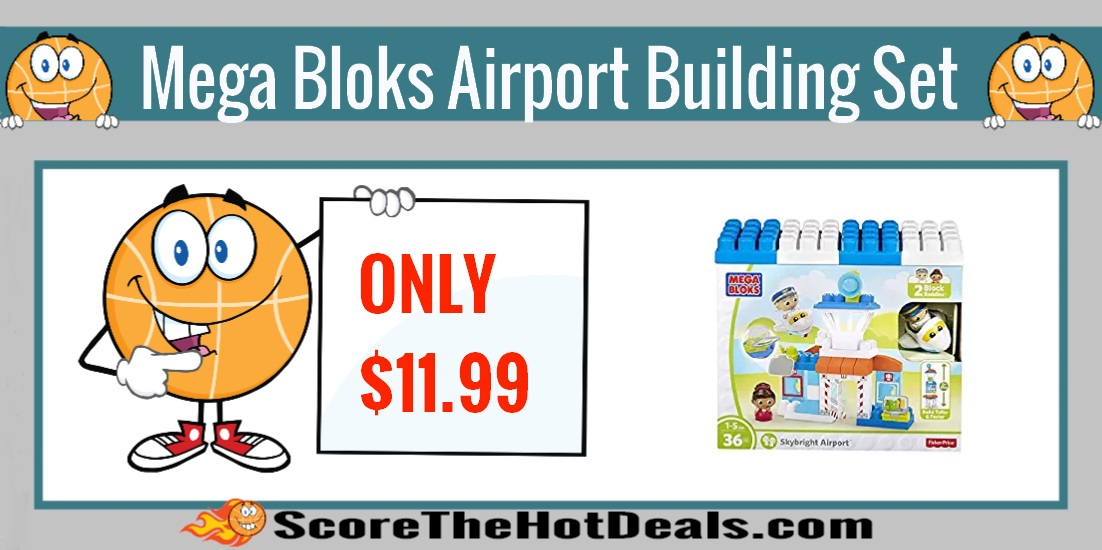 Mega Bloks Skybright Airport Building Set