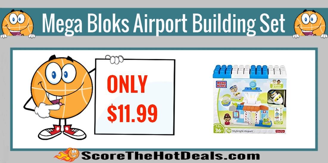 Mega Bloks Skybright Airport Building Set