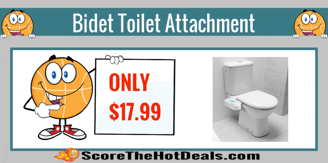 Bidet Toilet Attachment