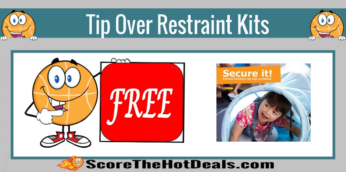 Tip Over Restraint Hardware Kits