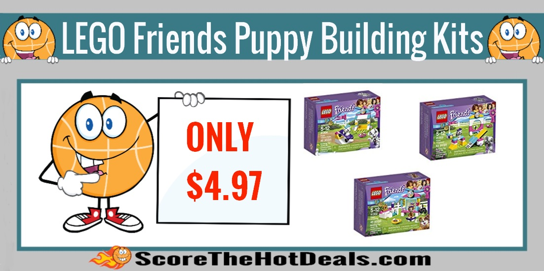 LEGO Friends Puppy Building Kits