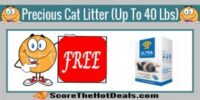 **FREE** Dr. Elsey's Precious Cat Litter (Up To 40 Lbs) - After Rebate!