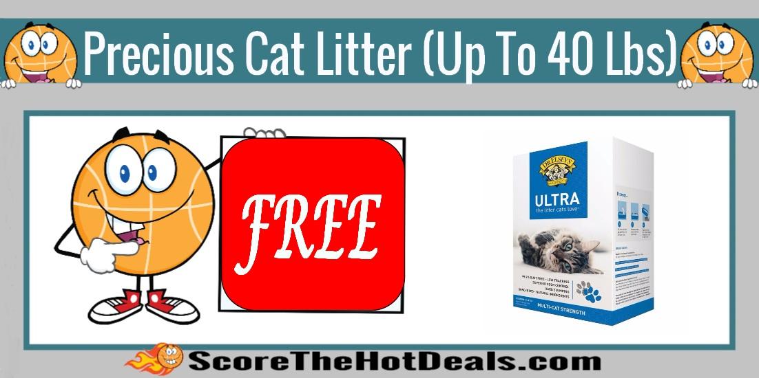 Precious Cat Litter