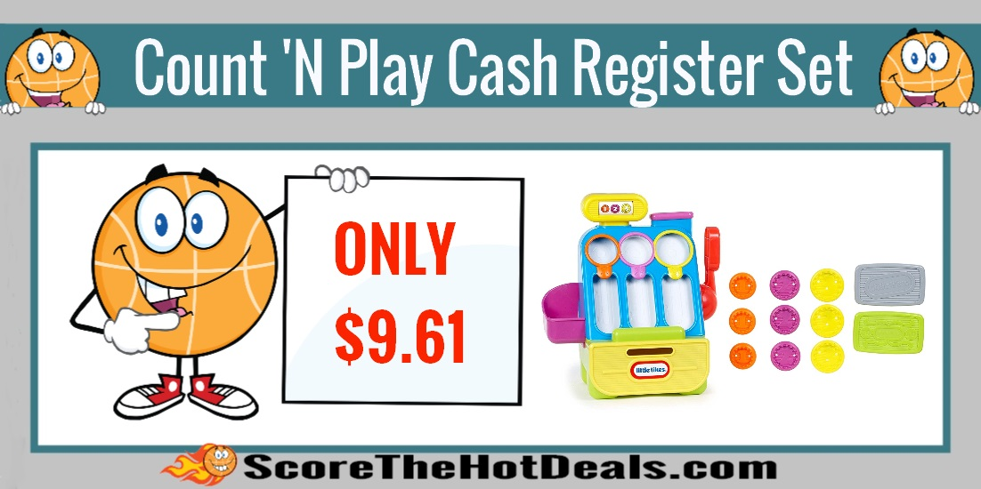 Little Tikes Count 'n Play Cash Register Playset