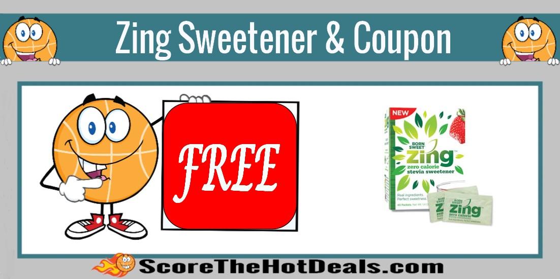 Born Sweet Zing Zero Calorie Stevia Sweetener