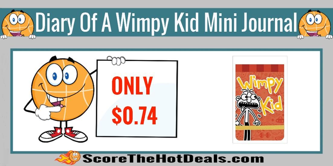 Diary of a Wimpy Kid Fregley Mini Journal