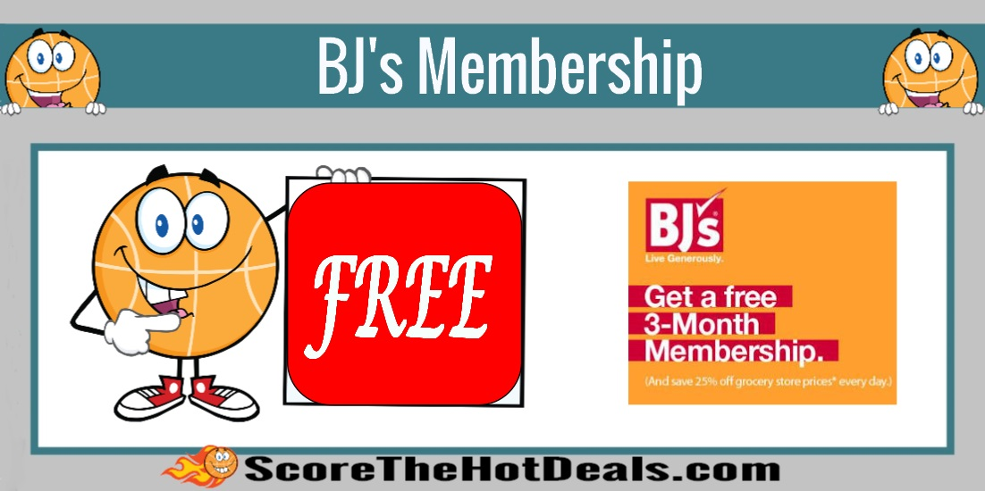 3 Month BJ's Membership